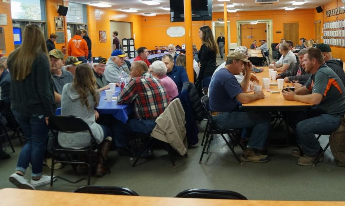 Area veterans were treated to breakfast at Chester High School on Nov. 9.