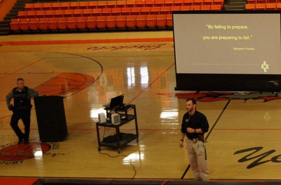 Students Schooled On Active Shooter Safety