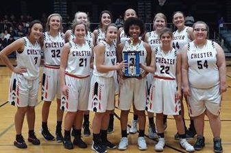The Chester Lady Yellowjackets went 4-1 to take second in the Sparta Invitational.