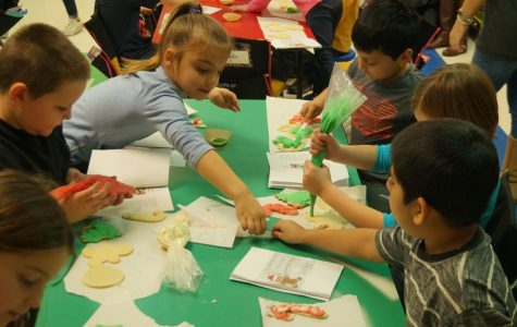 Culinary Arts Hosts Cookie Decorating Class for CGS Second Graders