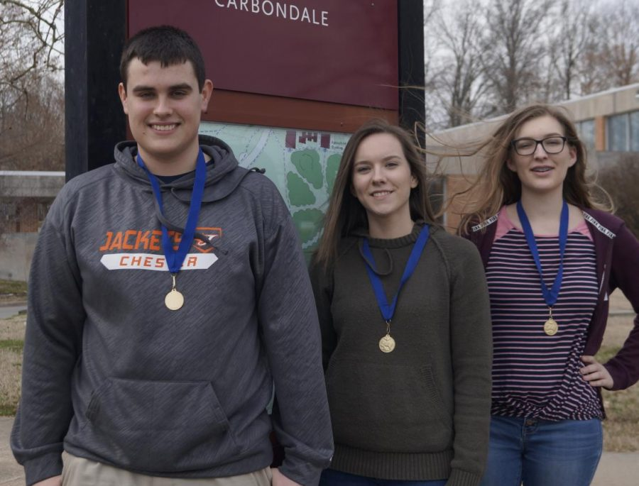 Three Take First At Academic Challenge