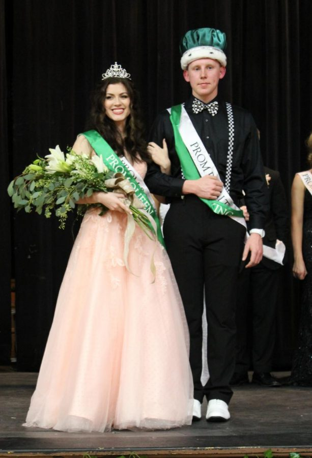 Elizabeth Soellner and Jakob Cushman were crowned queen and king at the 2019 Chester High School Prom.