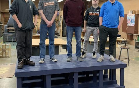 Construction Class Builds Platform