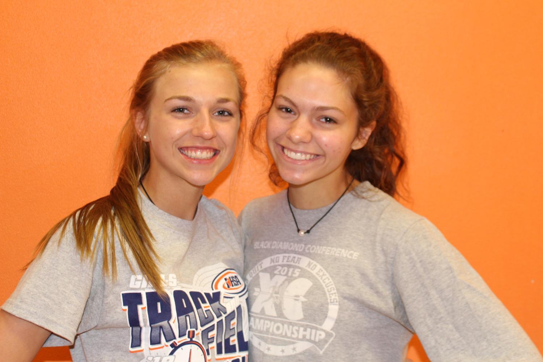 Josie Kattenbraker and Lauren Soellner qualified for state in track.