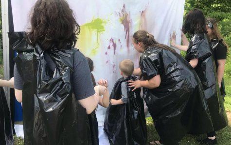 Art Club Gets Messy