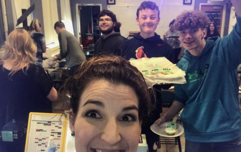 Students in Mrs. Hammel's Language Arts 4 class baked Frankenstein-themed goodies to celebrate their completion of Mary Shelley's gothic classic.