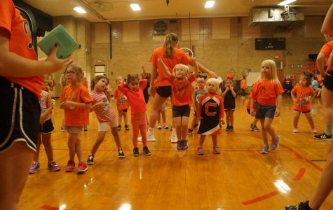 Dance Team Prepares Youngsters