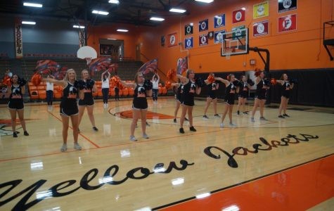 Pep rally introduces fall participants