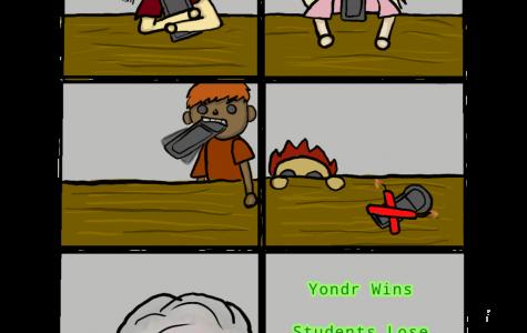 Cartoon Yondr
