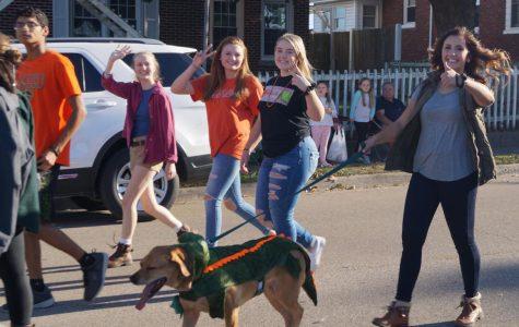 Classes Celebrate Decades At Parade