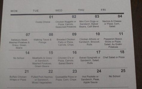 October menus