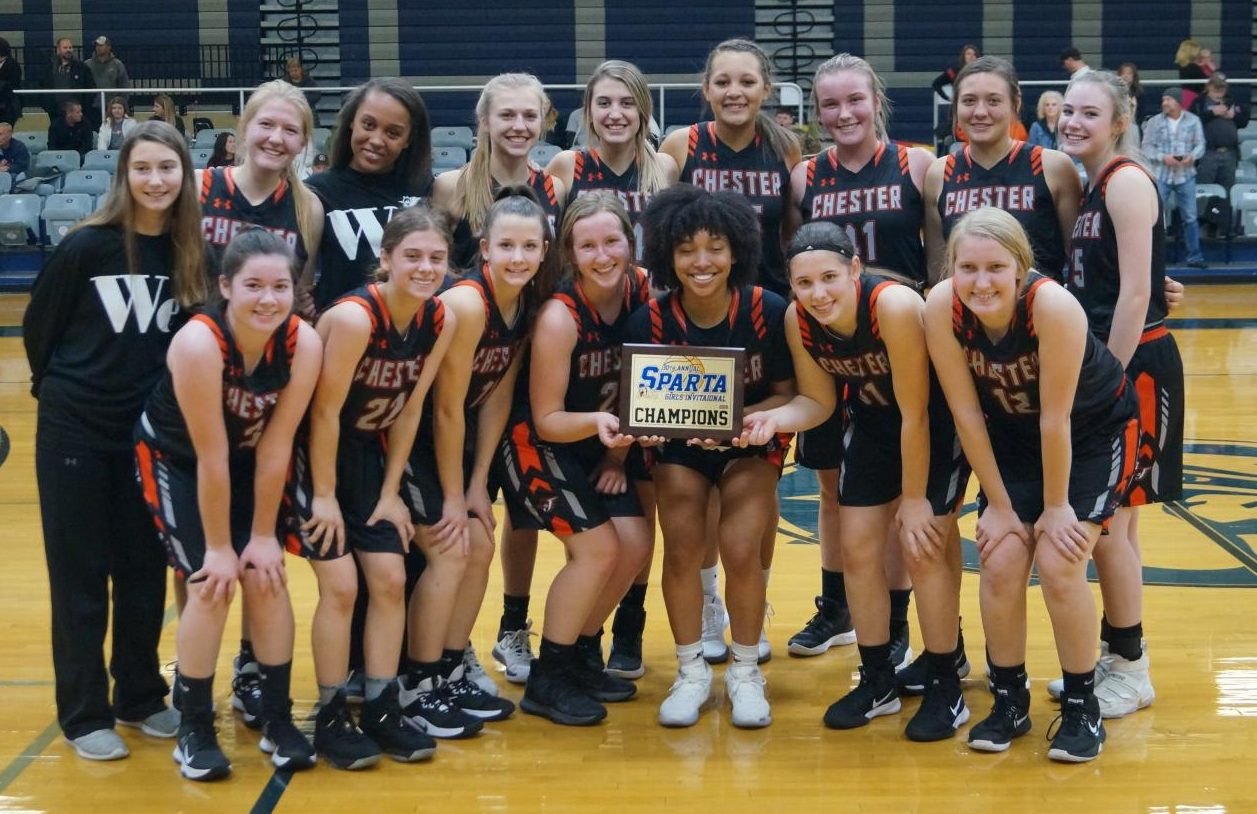 The Chester Lady Yellow Jackets won the Sparta Invitational.