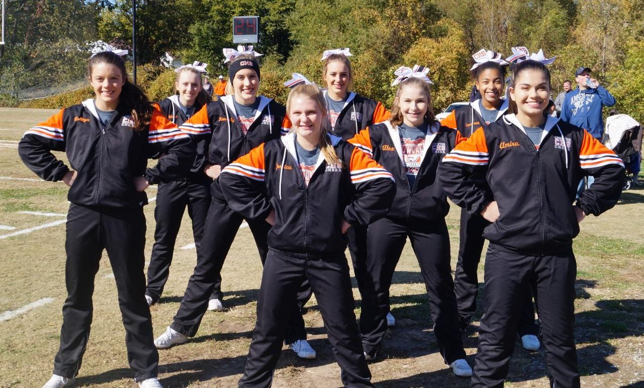 The Chester High School cheerleaders qualified for state after receiving a qualifying score at the ICCA Invitational at Waterloo.