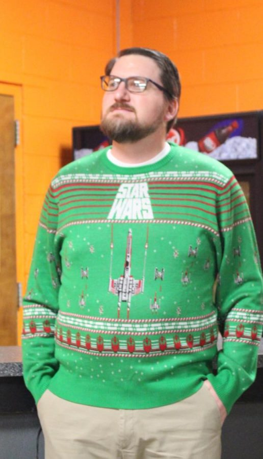 No one told Mr. Guebert Stars Wars didnt work as a Christmas special.
