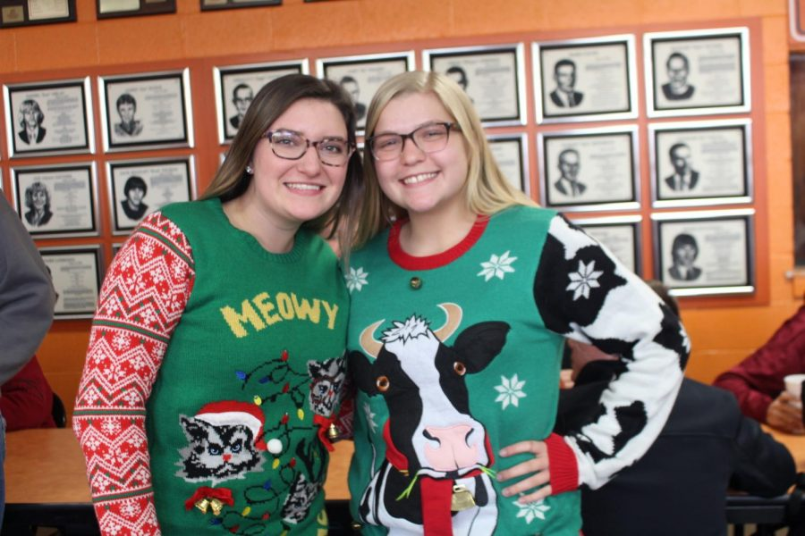 Cat & Cow -- Macey Ludwig & Olivia Brown
