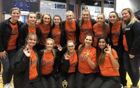 CHS Dance Team Advances to State Finals