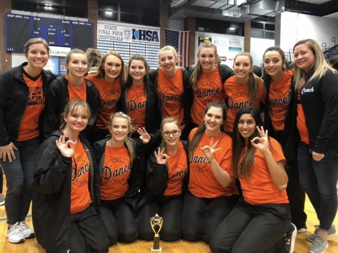 The Chester High School Dance Team qualified for state.