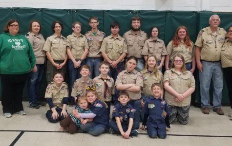 Scouts Serve Pancake Breakfast