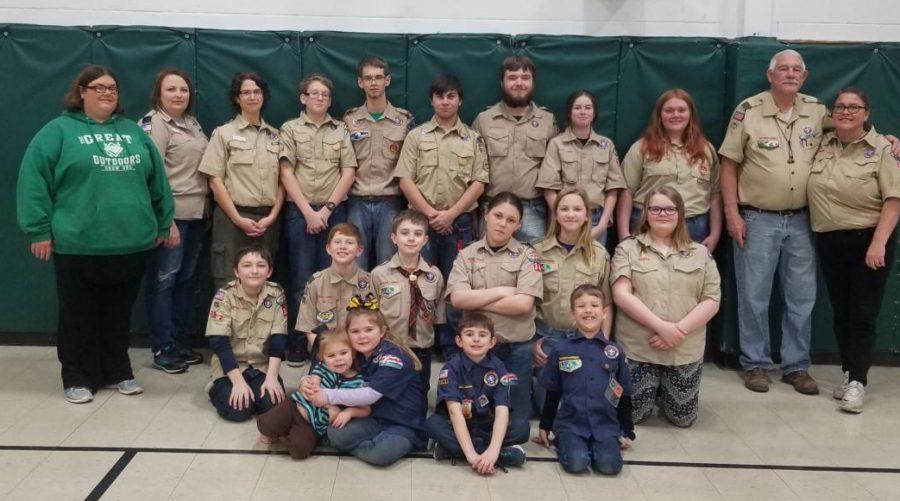 Chester scouts held a pancake breakfast Jan. 25.