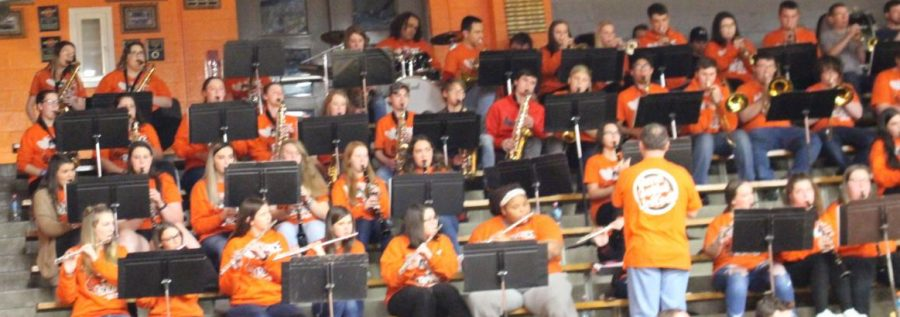 Pep Band Qualifies For State Tourney