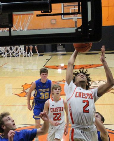DeOndre Martin scored 19 points in the win over Trico.
