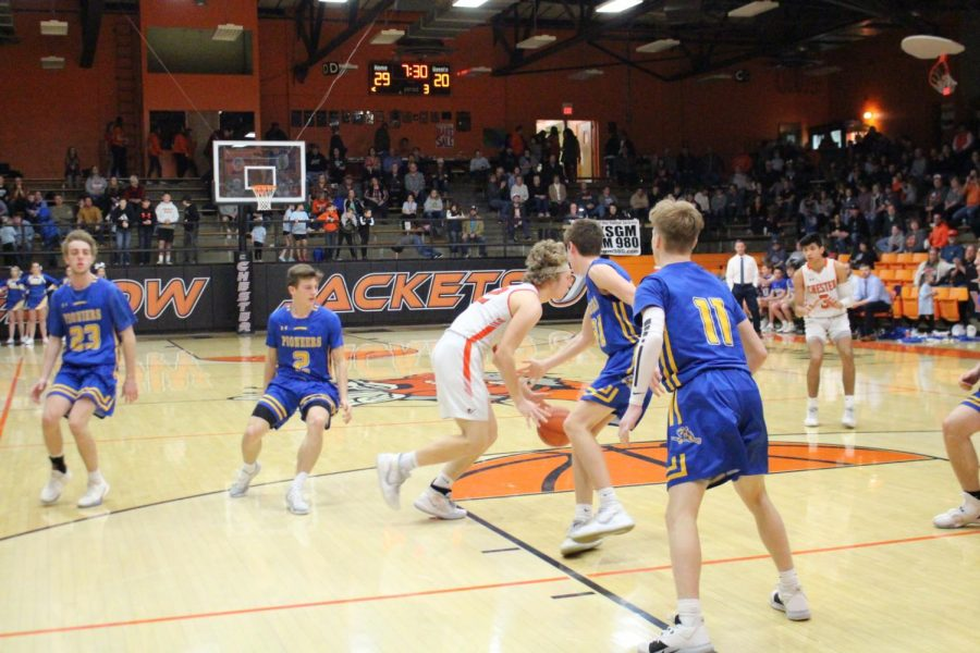 Ian Reith scored 19 points against Trico.