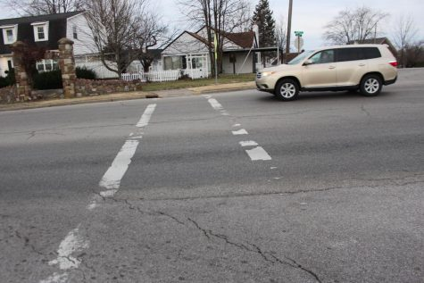 Swanwick Crosswalk Needs Attention