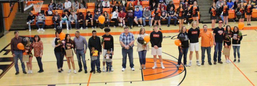 Seniors Honored At Last Home Game
