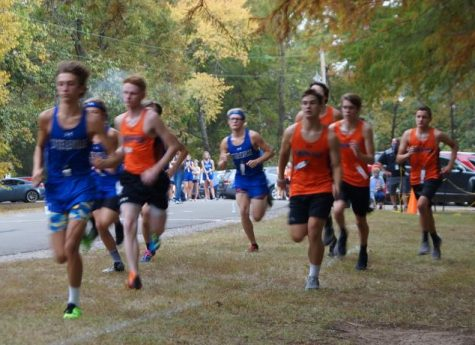 Chester runners take off during the Chester Invitational II.