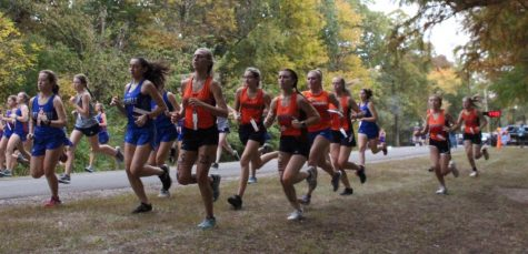 Chester girls held their last home meet at Randolph County Lake on Oct. 8.