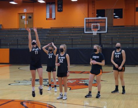 The Chester Lady Yellowjackets basketball team began practicing this week as Randolph County moved into the tier 2 phase.