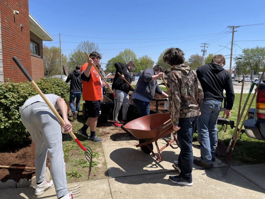 Science Students Honor Earth Day