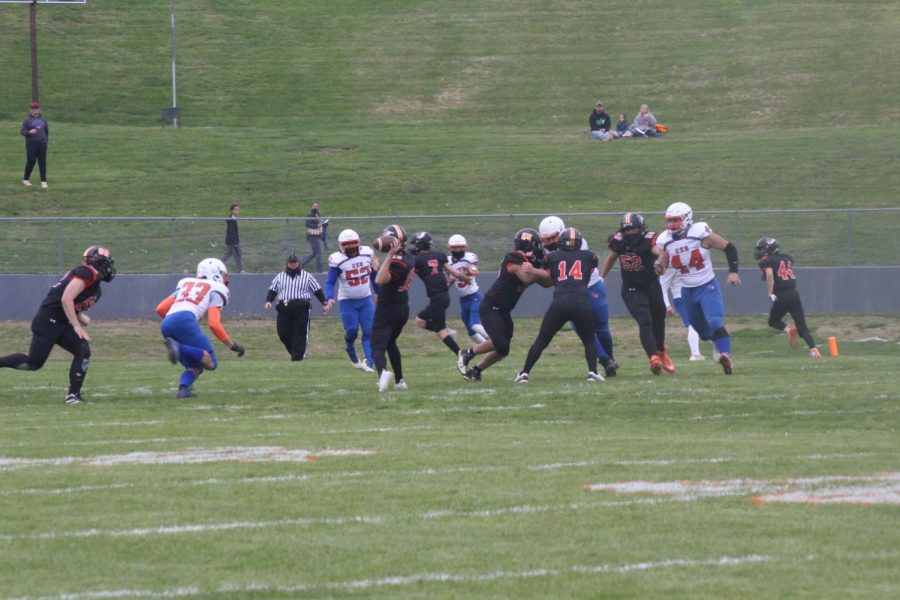Ethan Stumpe threw three TDs in Chester