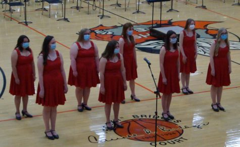 Sound Affect performs at the Chester High School Spring Concert May 11.