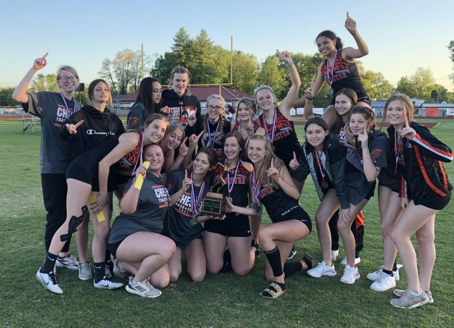 Chester captured the Black Diamond Conference Girls' Track Championship.
