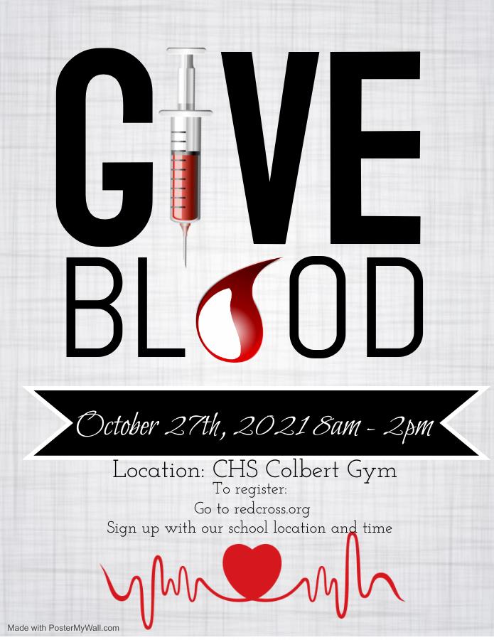 Blood Drive at CHS