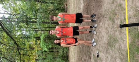 Medal winners for Chester at the Chester Invitational were Maria Nickle, Jacob Handel and Blake Farmer.